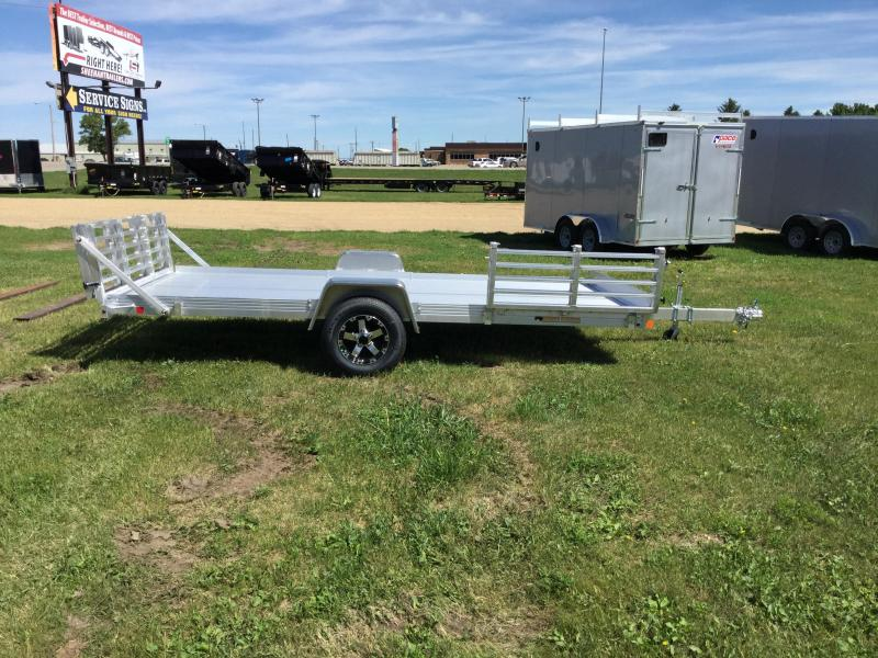 2018 Bear Track Products 80x14 Side Load Utility Trailer