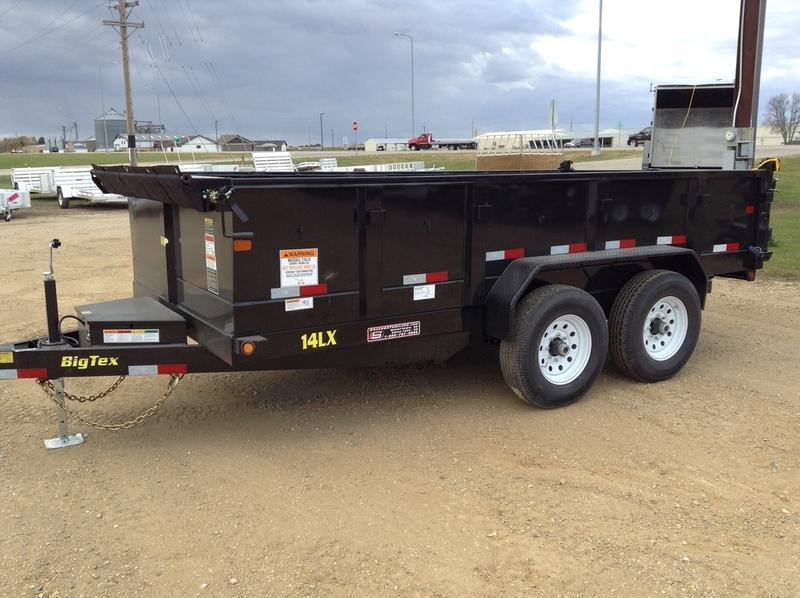 2018 Big Tex Trailers 14LX-16 Dump Trailer