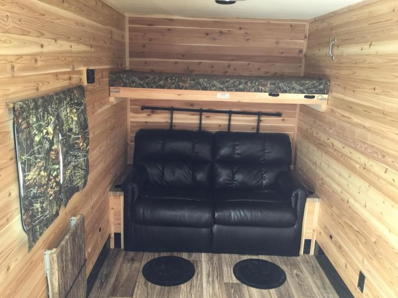2019 Glacier 6.5x14 Ice/Fish House Trailer