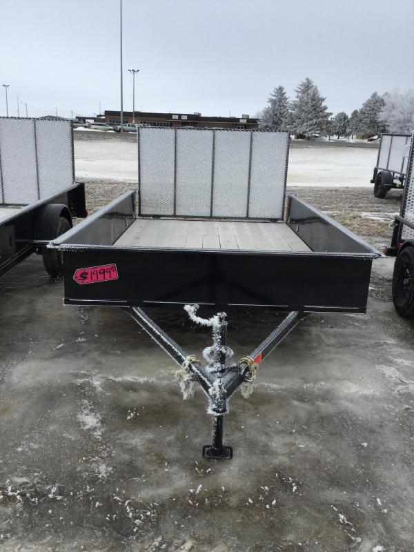 2018 DCT 83x12 Utility Trailer