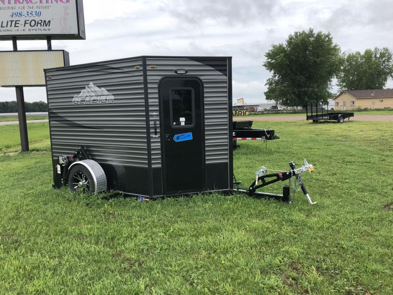 2018 Glacier 6.5x8 Ice/Fish House Trailer