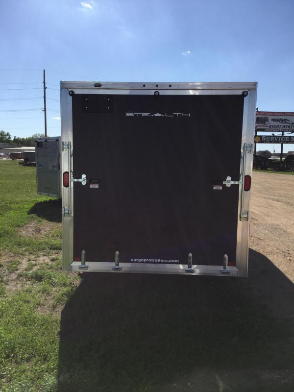 2018 Alcom-Stealth 7.5x18 Enclosed Cargo Trailer