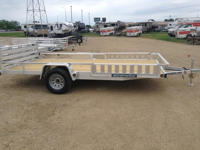 2019 DCT Aluminum ATV Trailer AS8314RR
