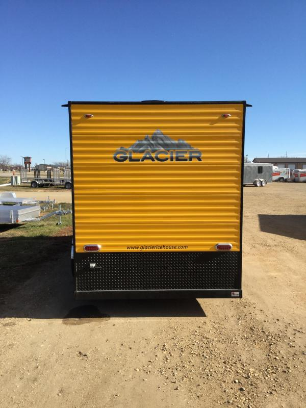 2019 Glacier A 6.5X14 RD Ice/Fish House Trailer