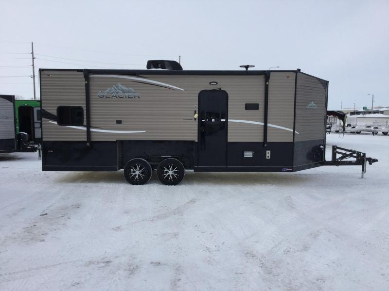 2019 Glacier 20RV Ice/Fish House Trailer