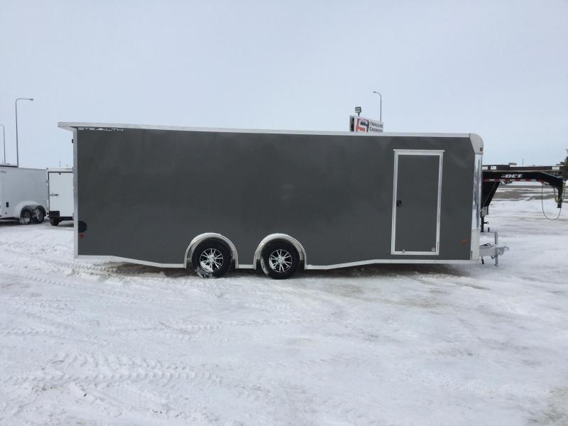 2018 Alcom-Stealth 8x24 Enclosed Cargo Trailer
