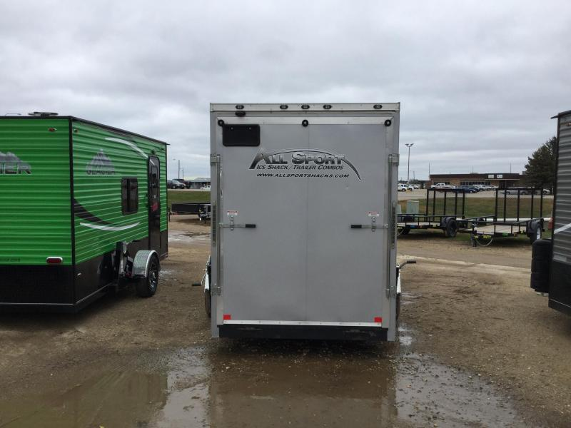 2018 Stealth Trailers 6x14 All sport Ice/Fish House Trailer