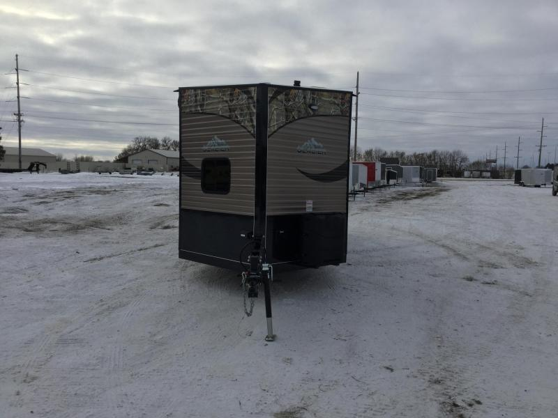 2019 Glacier SPORTSMAN 24 RV 399.00/MONTH Ice/Fish House Trailer