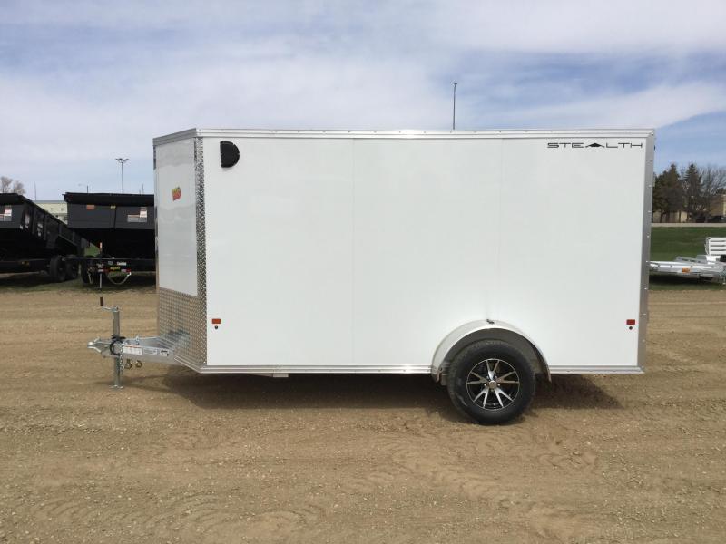 2019 Alcom-Stealth 6x12 Enclosed Cargo Trailer