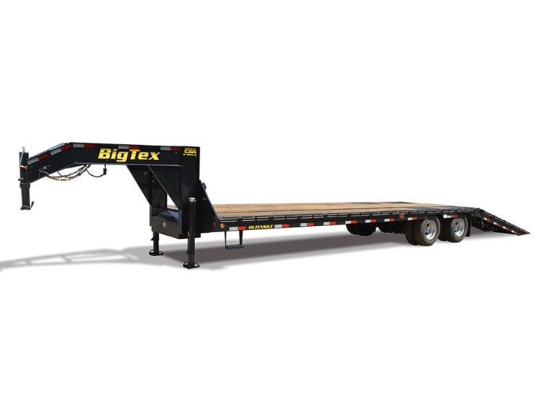 2018 Big Tex Trailers 25GN-35-HDTS Equipment Trailer