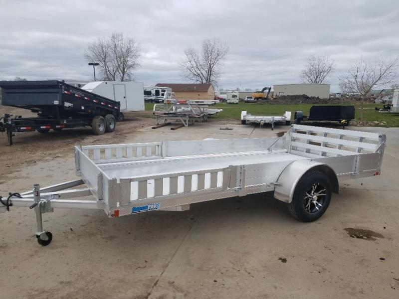 2019 Alcom-Stealth 80 X 14 Flatbed Trailer