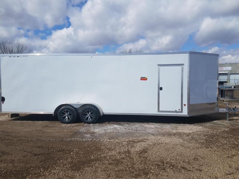 2019 Alcom-Stealth 7X29 (24+5VNOSE) SNOWMOBILE TRAILER/UTV TRAILER