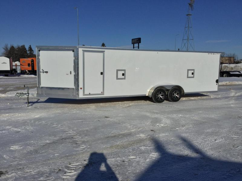 2019 Alcom-Stealth 7x29 Snowmobile Trailer