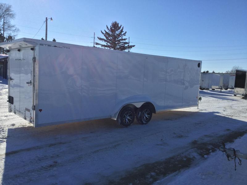 2019 Alcom-Stealth 7x29 Snowmobile Trailer