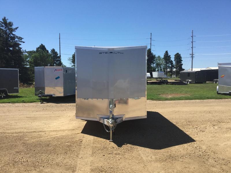 2018 Alcom-Stealth 7x14 Enclosed Cargo Trailer