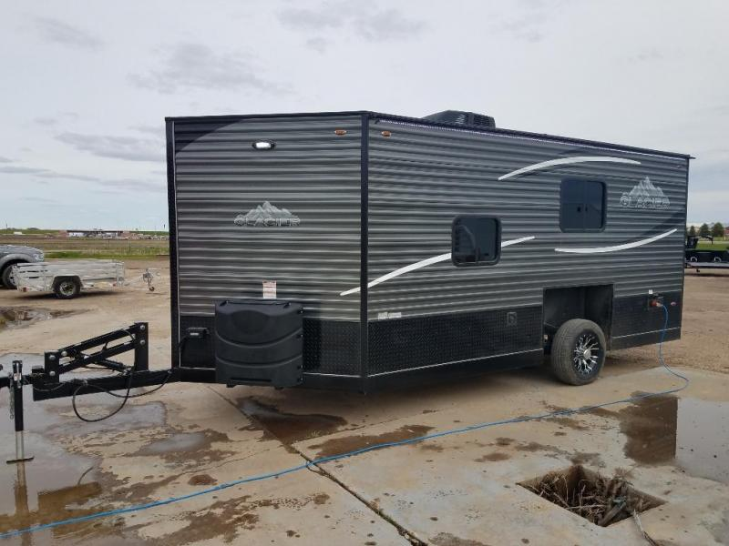 2019 Glacier 164RD Ice/Fish House Trailer