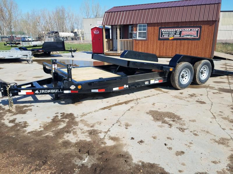 2019 Iron Bull 83 x 21 Tiltbed Equipment Trailer