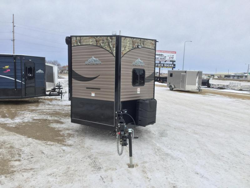 2019 Glacier 21ft Sportsman Ice/Fish House Trailer