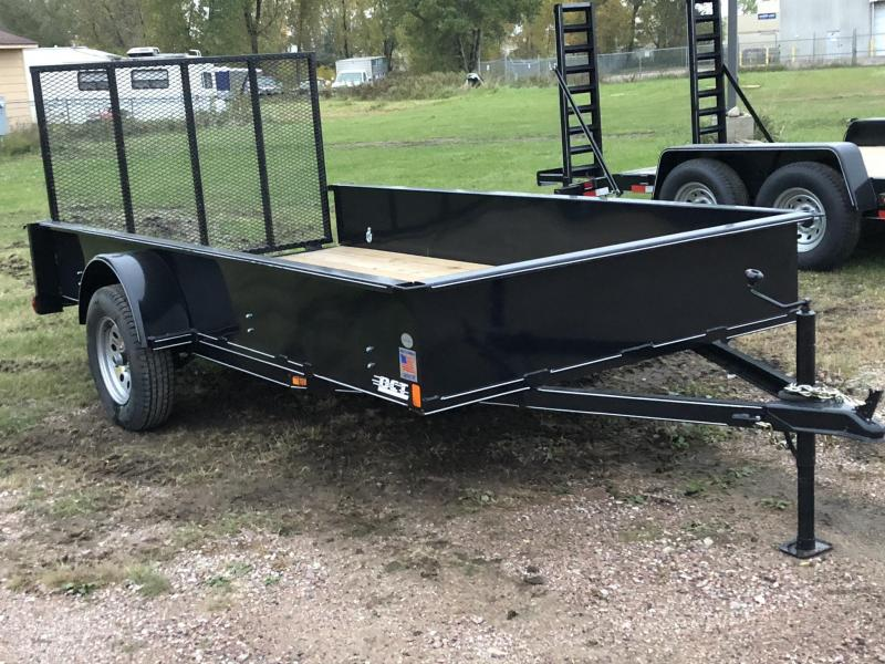 2018 DCT 6X12 SE STEEL UTILITY TRAILER 12 SOLID SIDE Utility Trailer