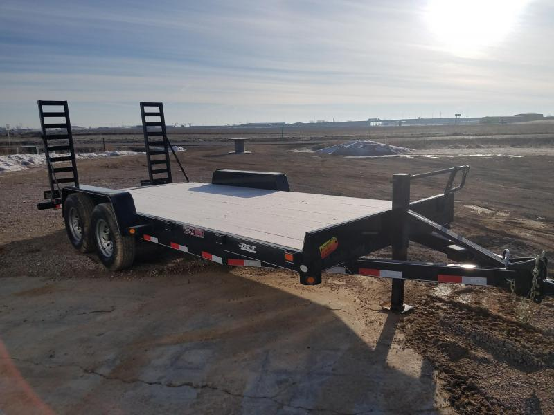 2018 DCT 18FT HD Equipment Trailer
