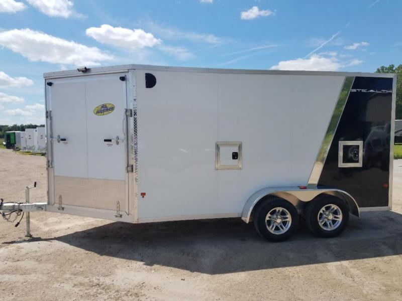 2018 Alcom-Stealth E7X14S Enclosed SNOW / UTV Cargo Trailer