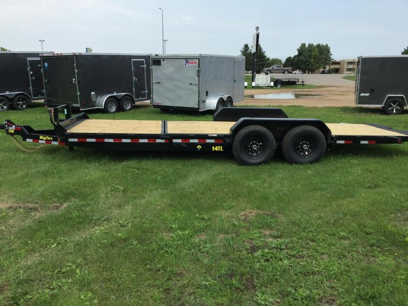 2019 Big Tex Trailers 22FT Tilt Equipment Trailer