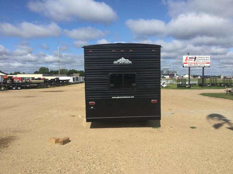 2019 Glacier 24ft RV Ice/Fish House Trailer