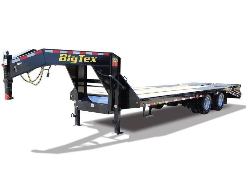 2018 Big Tex Trailers 22GN-25+5 Equipment Trailer