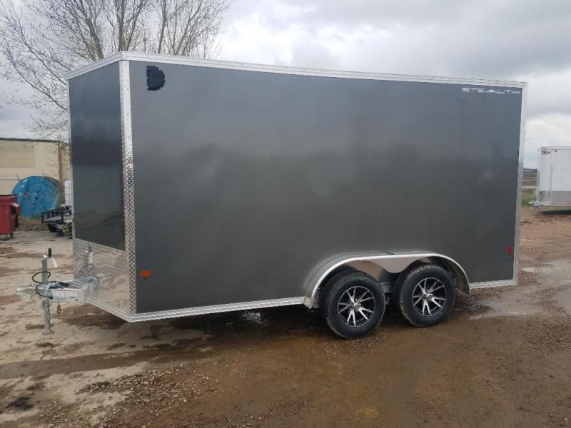 2019 Alcom-Stealth C7.5X14 Enclosed Cargo Trailer