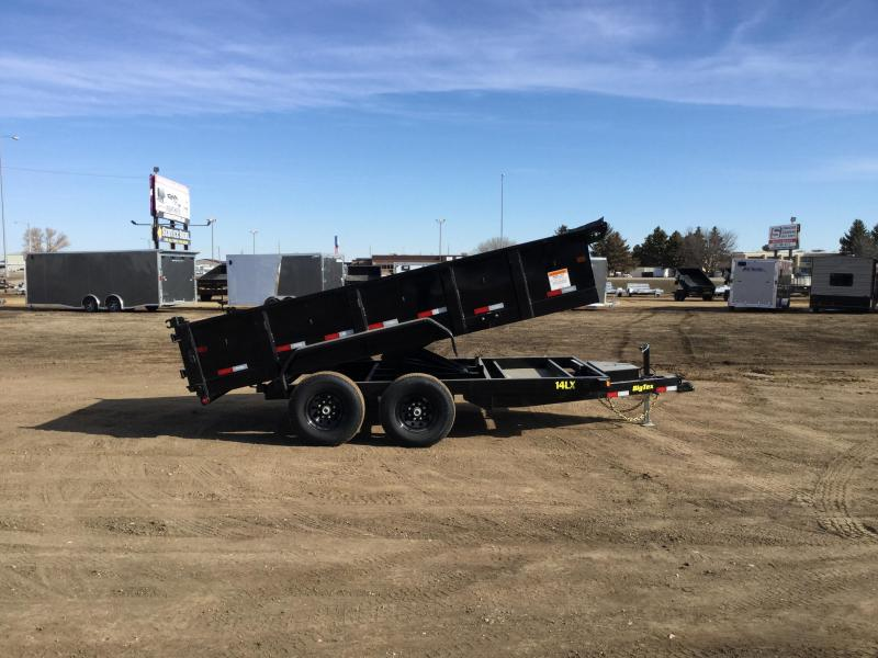 2019 Big Tex Trailers 14lx 14 Dump Trailer