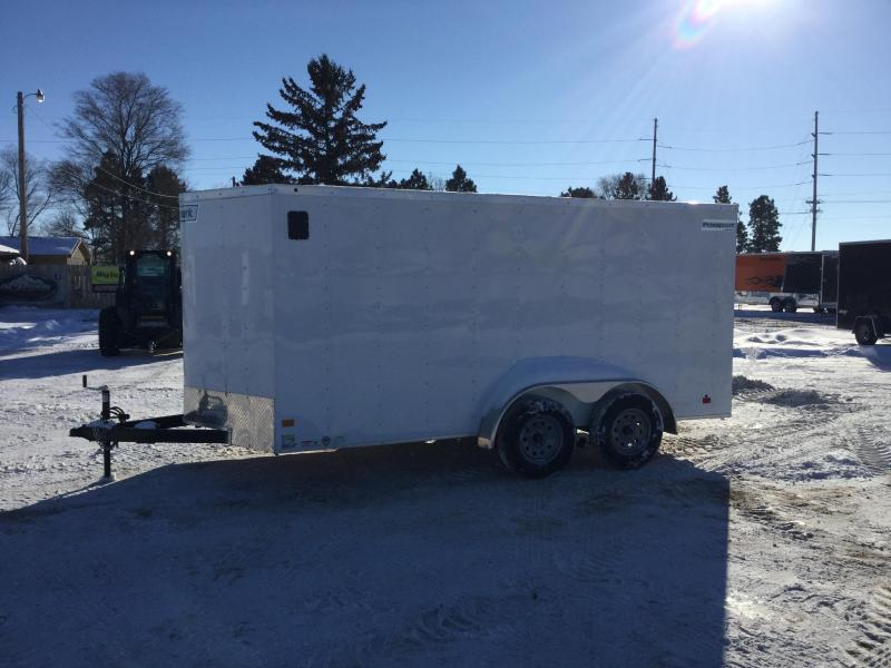 2019 Haulmark 7x14 Enclosed Cargo Trailer
