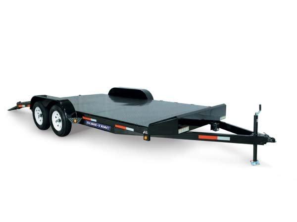 2017 Sure-Trac 7 x 20 Steel Deck Car Hauler, 10k