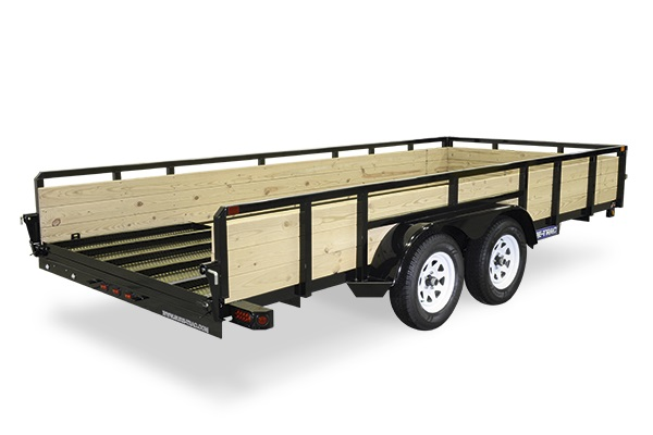 2020 Sure-Trac 5 X 10 Tube Top Three Board   Tandem