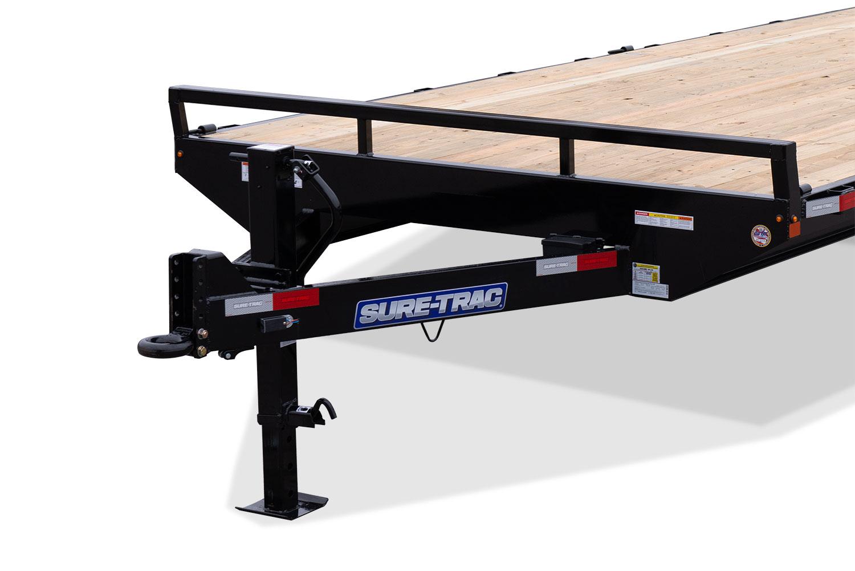2019 Sure-Trac 8.5 X 18 Ft +4 Beavertail Standard Duty