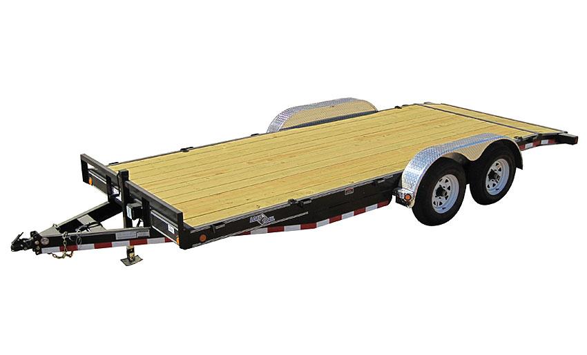 """2012 Load Trail 80"""" X 18' Tandem Axle Carhauler 2-5200 lb w/1-Brake"""