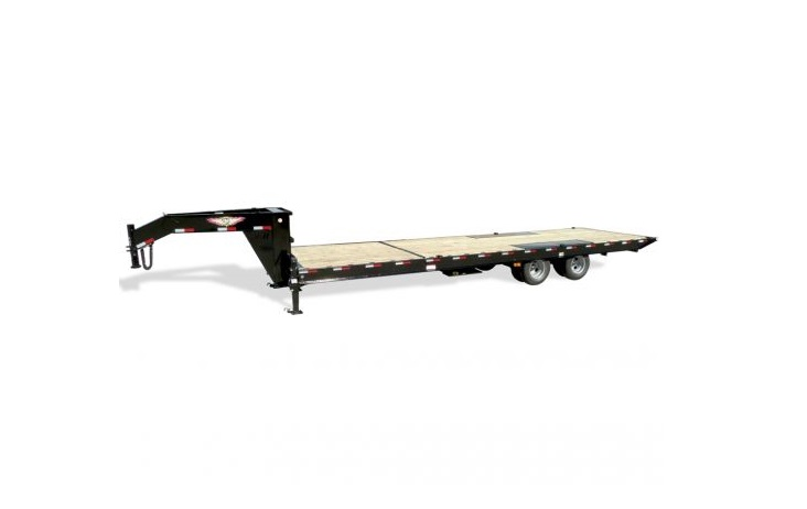 2019 H and H Trailer 102X22 PTHD 10LB 15K BUMPER PULL