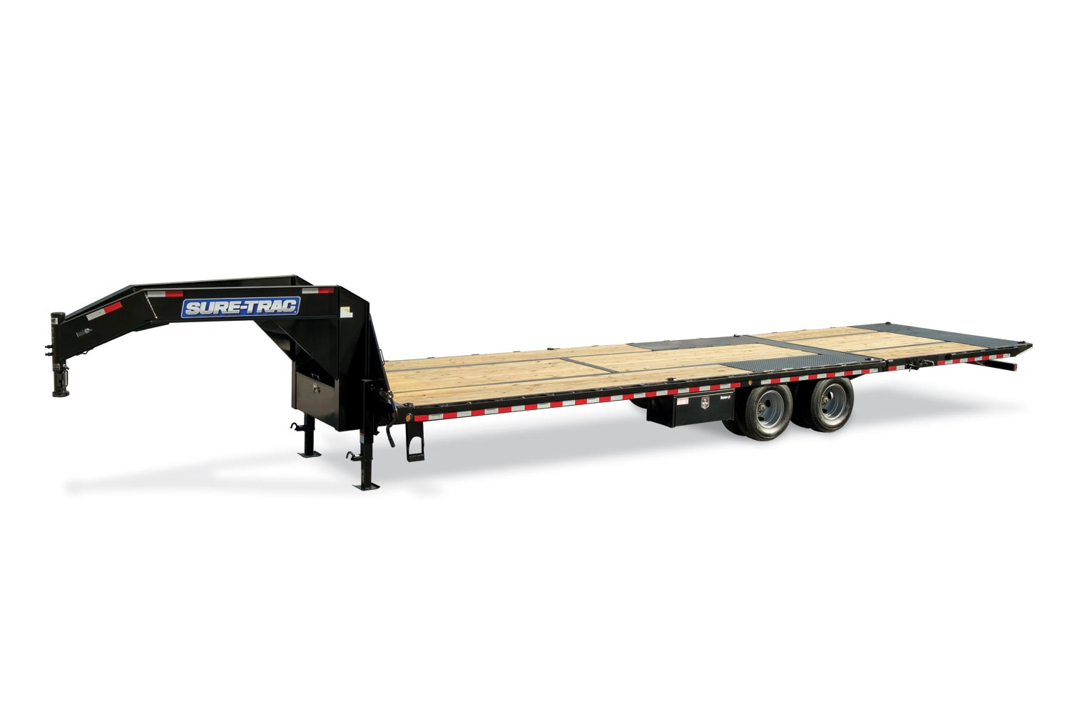 2019 Sure-Trac 8.5x26+10 LowPro Hyd Deckover Tandem GN