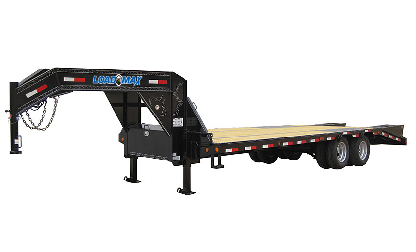 "2014 Load Trail 102"" X 32' Low-Pro Gooseneck  3-10,000 lb Axles"
