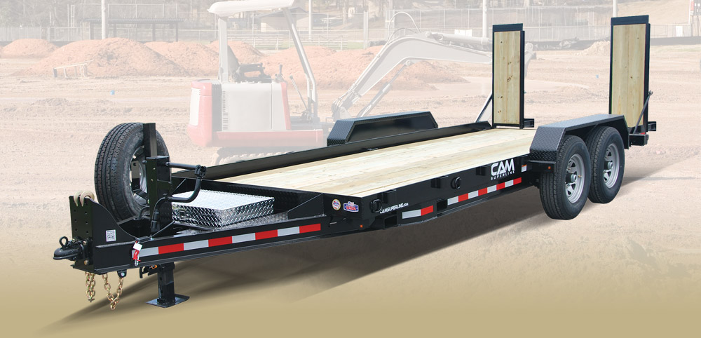 2019 Cam Superline 8.5 X 18 Channel Frame Equipment Hauler