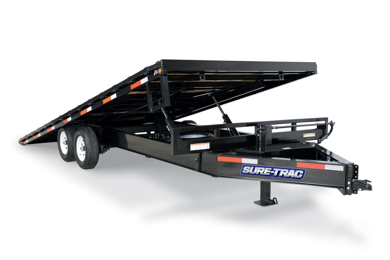 2019 Sure-Trac 102x22+4 Deckover Tilt Tandem GN 15K