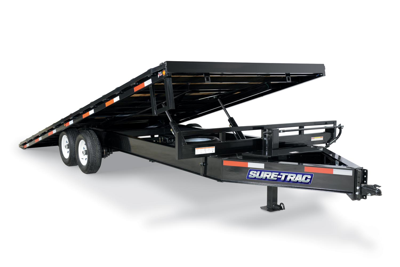 2019 Sure-Trac 102x22+8 Deckover Tilt Tandem BP 17.6K