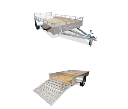 2019 H and H Trailer 8.5X14 STEEL SOLID SIDE 3.5K