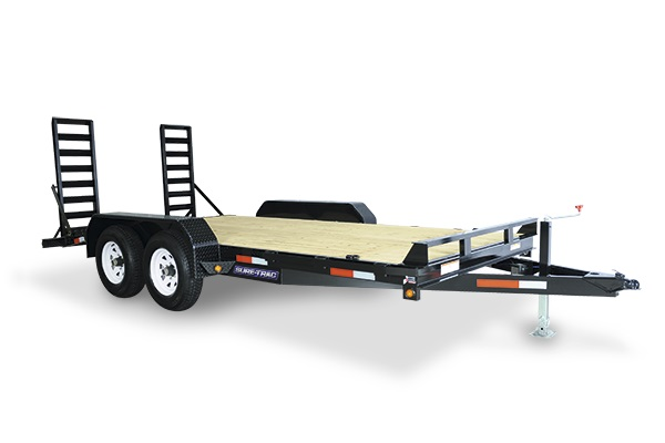 2019 Sure-Trac 7 x 18 Equipment Trailer  14K Flat Deck