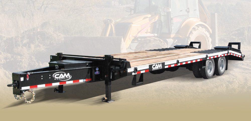 2019 Cam Superline 10 Ton Deckover Heavy Duty 8.5 x 25 Elec