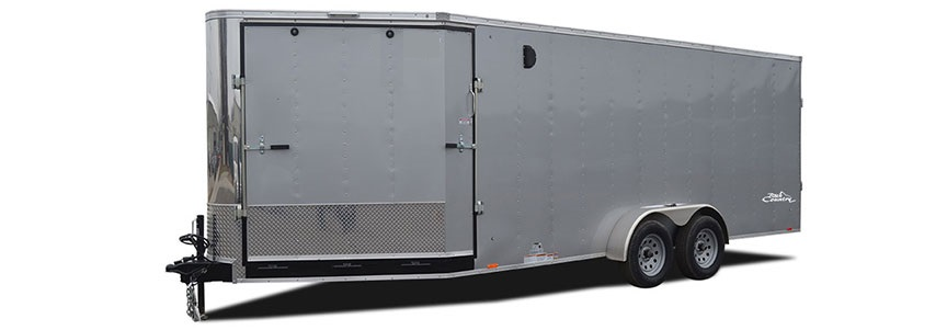 2018 Look Trailers Avalanche V Front Flat Top Snowmobile Trailer