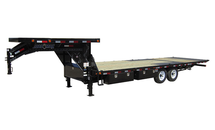 """2017 Load Trail 102"""" x 26' Heavy Duty Gooseneck 2-8000 lb Axles w/Hyd. Dove"""
