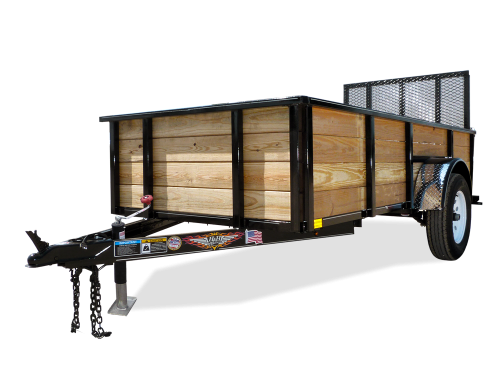 2018 H and H Trailer 8(76)X10 WOOD-SIDE ALUM 3K