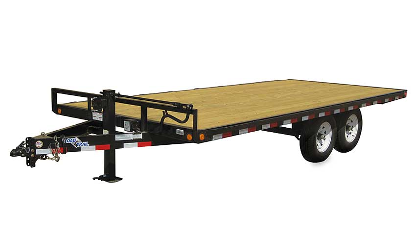 "2017 Load Trail 102"" X 18' Deck Over Pintle Hook"