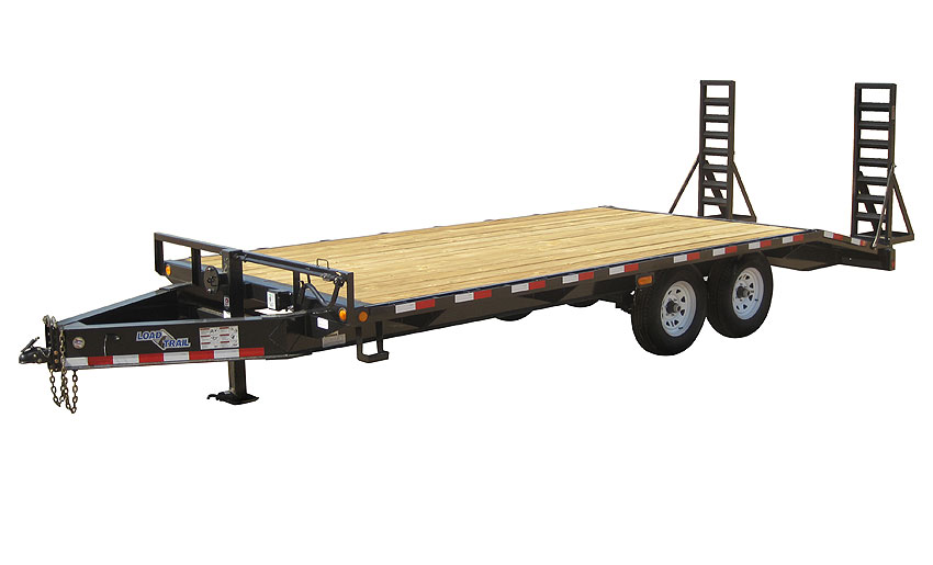 "2016 Load Trail 102"" X 25' Standard Pintle Hook   2-5,200 lb Axles"