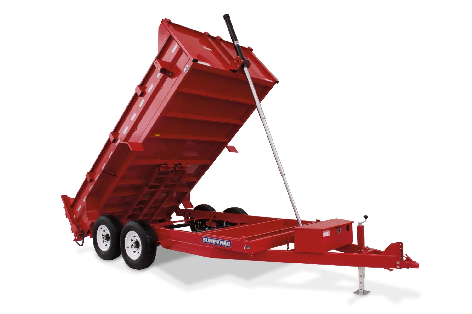2019 Sure-Trac 82 IN X 14 LP 14K Goose Telescopic Dump